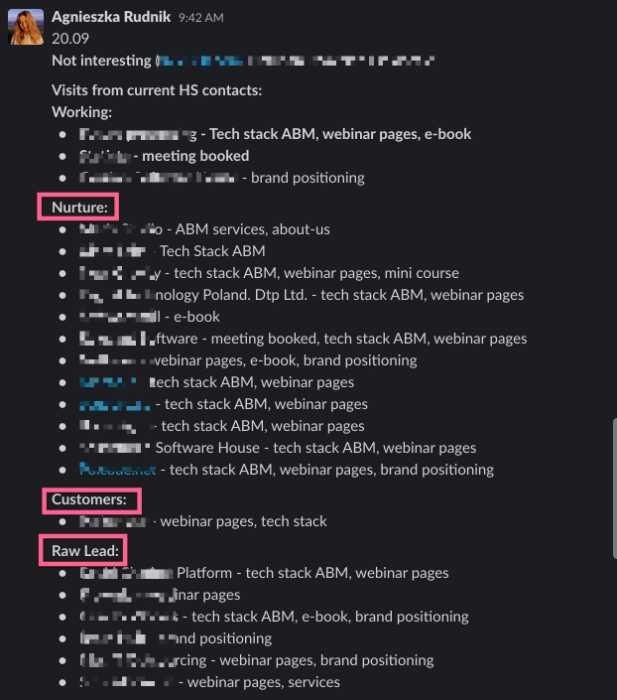 slack sales notifications